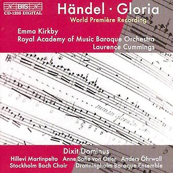 G.F. Handel - H Ndel: Gloria; Dixit Dominus [CD] USA import