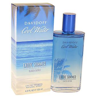 Davidoff Men Cool Water Exotic Summer Eau De Toilette Spray (limited edition) By Davidoff