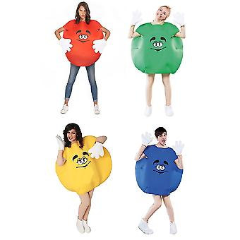 Candy costume Schokolinse Schokokostüm cracker costume one size