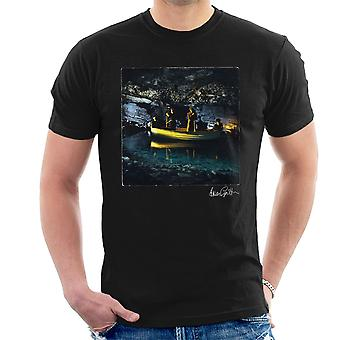Echo And The Bunnymen Crystal Days Album Sleeve Men's T-Shirt