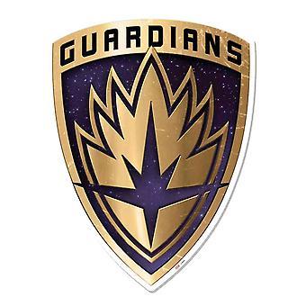 Guardians of the Galaxy Vol. 2 Crest væg kunst 3D effekt pap påklædningsdukke