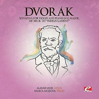 Dvorak - Sonatina Viol & fortepian G Maj 100 B 183 Minindian [CD] USA import