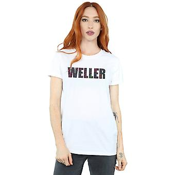 Paul Weller Women's Paisley Logo 2 Boyfriend Fit T-Shirt