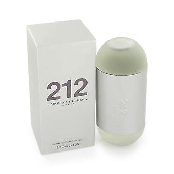 Carolina Herrera 212 Femme Eau de Toilette 100ml EDT Spray