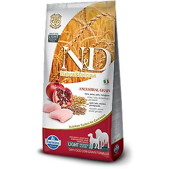 Farmina N&D Low Ancestral Grain Light Mini e Medium Pollo e Granda