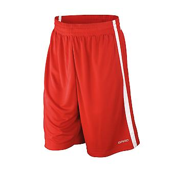 Spiro Mens Quick Dry Basketball Shorts