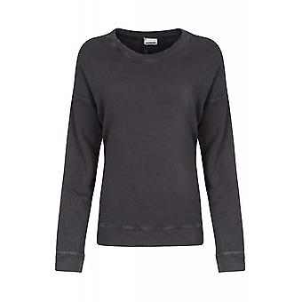 Noisy may asphalt shirt ladies sweater grey in the simple style
