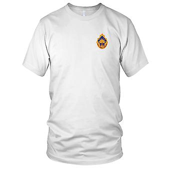 US Army - 40th Infantry Division Embroidered Patch - Mens T Shirt