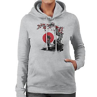 Dragonball Z Saiyan Under The Sun Women's Hooded Sweatshirt