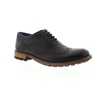 Ted Baker Guri 9 - Black Leather Mens Shoes