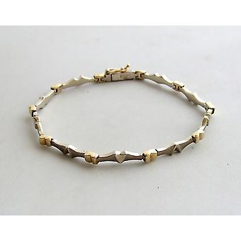Gult guld armband