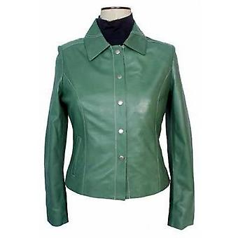 Ikela Womens Leather Jacket