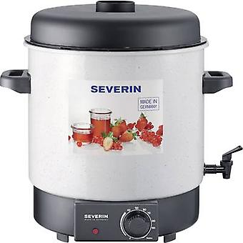 Home canning/hot beverage maker with tap Severin EA 3653 White,