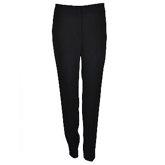 Msgm women's 2341MDP1817460899 black polyester pants