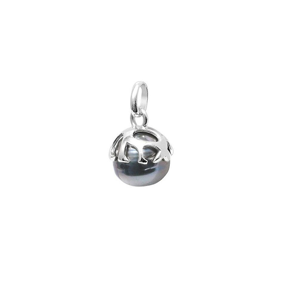 Ringed Tahitian Pearl pendant and Silver 925/1000