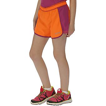Regatta Girls Limber Wicking Quick Dry Stretch Active Summer Shorts