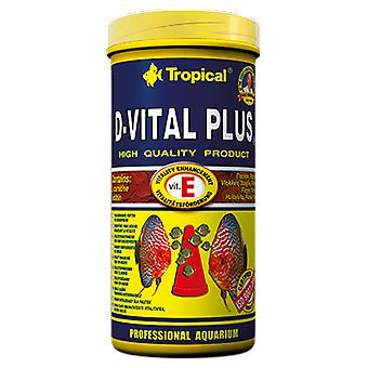 Tropical 72357 D-Vital Plus 5 L (Fish , Food , Warm Water)