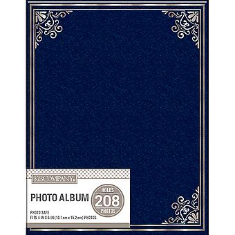 K&Company 2 Up Basic Photo Album -Navy 30706583