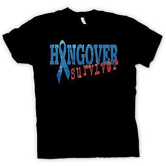 Mens T-shirt - Hangover Survivor - Funny