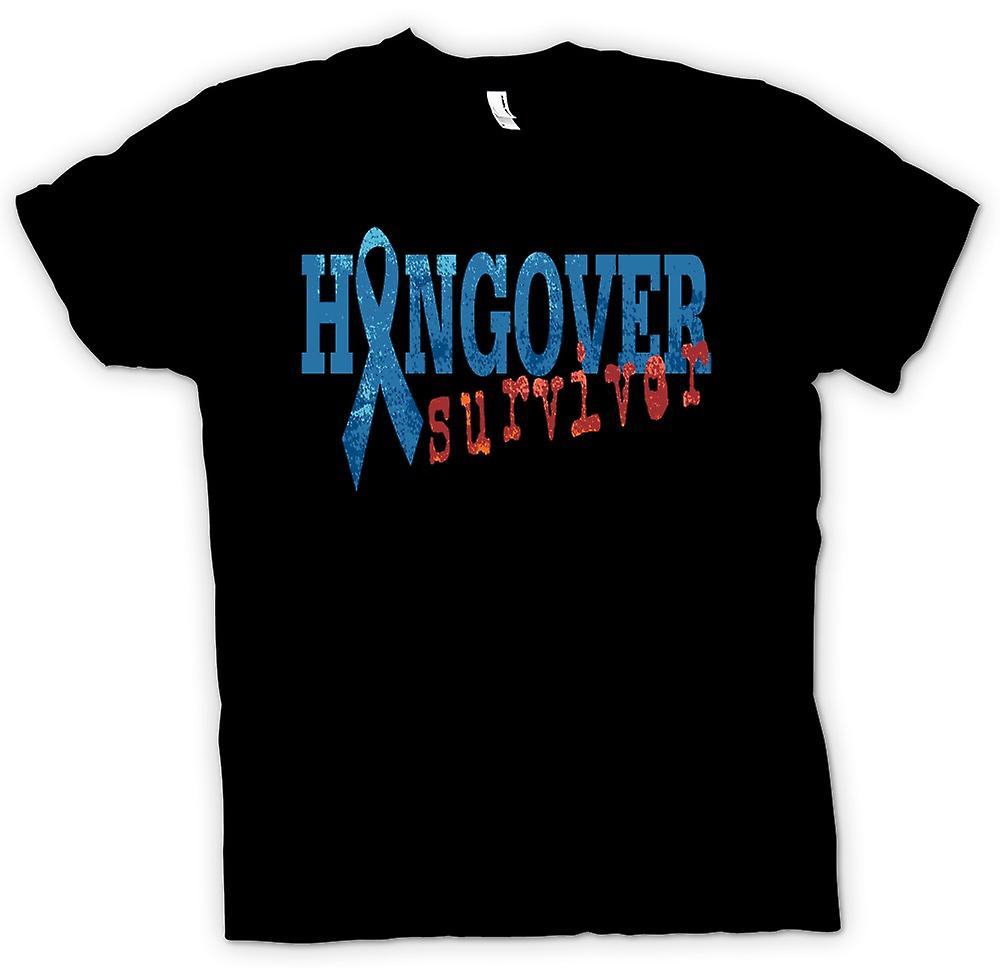 Mens T-shirt - Hangover Survivor - Funny