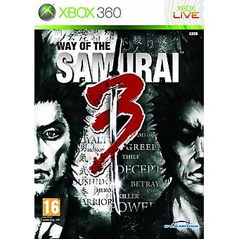 Way of the Samurai 3 (Xbox 360) - Factory Sealed