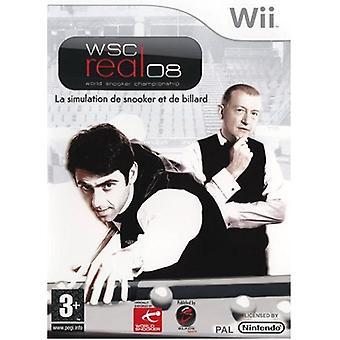 WSC echte 2008 World Snooker Championship (Wii)