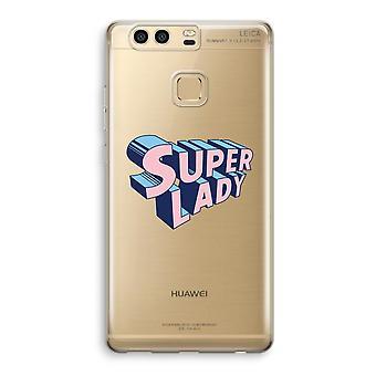 Huawei caja transparente P9 (suave) - Señora Super