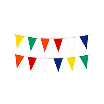 Bunting Rainbow Pennant (25 flags) 7 Metres (Qty per unit: 1)