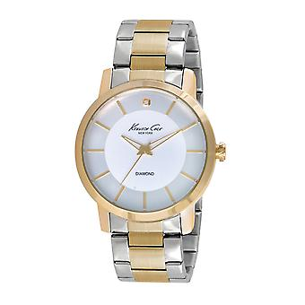 Kenneth Cole New York mannen pols horloge analoge roestvrijstaal 10020807