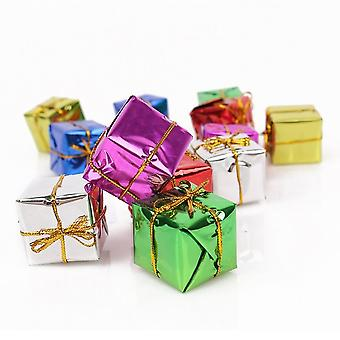 CHRISTMAS DECORATION   Christmas GIFT BOXES for DECORATION-12 PCs
