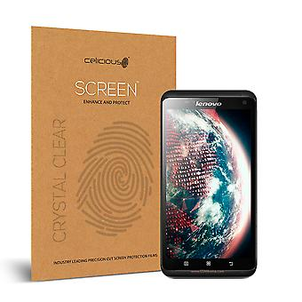 Celicious Vivid Invisible Glossy HD Screen Protector Film Compatible with Lenovo S930 [Pack of 2]