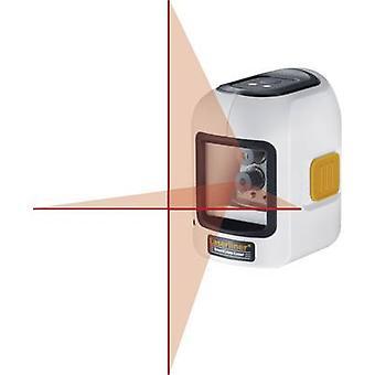 Laserliner SmartCross-Laser Cross line laser Self-levelling Range (max.): 10 m Calibrated to: Manufacturer's standards