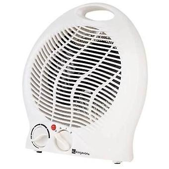 Kingavon Electric Fan Heater 2000W 2kW Upright Hot & Cold Portable Floor Silent