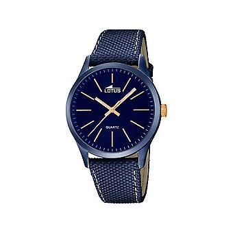 LOTUS - men's wristwatch - 18166/2 - minimalist - classic