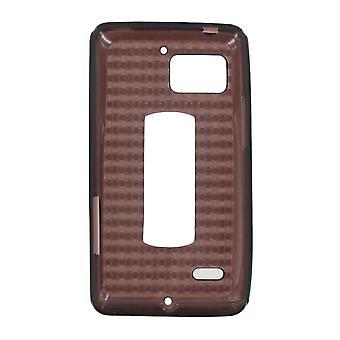 OEM Verizon High Gloss Silicone Case for Motorola DROID Bionic XT875 (Black) (Bu