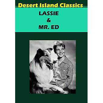 Lassie/Mr. Ed [DVD] USA import