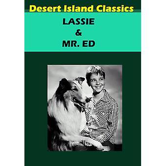 Lassie/Mr Ed [DVD] USA import