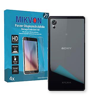 Sony Xperia D6543 reverse Screen Protector - Mikvon Armor Screen Protector (Retail Package with accessories)
