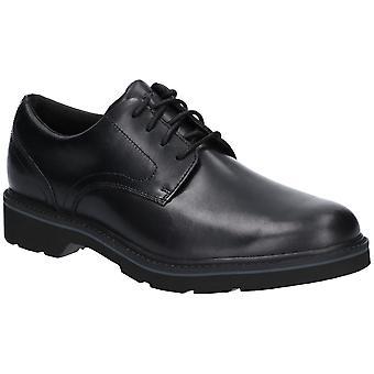 Rockport hombre cuero Charlee ATA para arriba los zapatos Oxford Formal