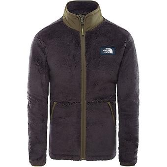 North Face Campshire Full Zip Jacket - Weathered Black/Green