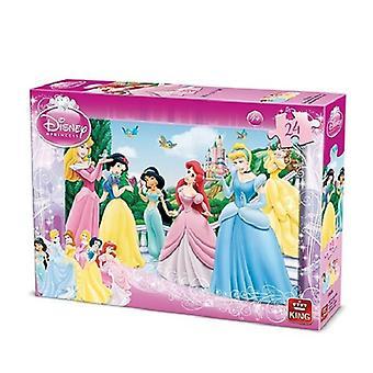 Roi de la princesse puzzle denteux 24pc