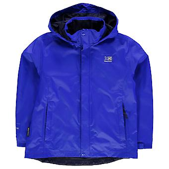 Karrimor Kids Childrens Sierra Rain Jacket Water Wind Proof Junior Breathable