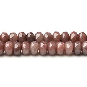 Strand 70 + lilla aventurin 5 x 8mm facetteret Rondelle perler CB37510