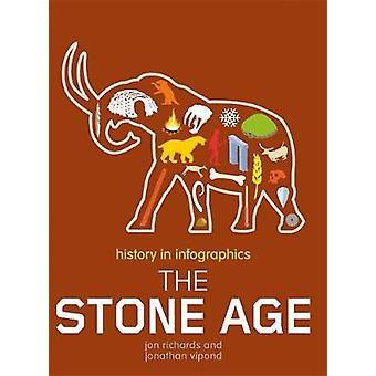 التاريخ في حجر Infographics-العصر الحجري بالتاريخ في Infographics-