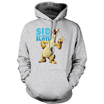 Mens Hoodie - Ice Age - Sid le paresseux
