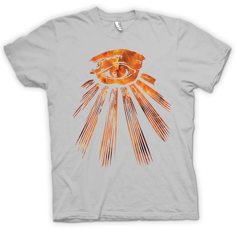 Mens T-shirt - Illuminati All Seeing Eye