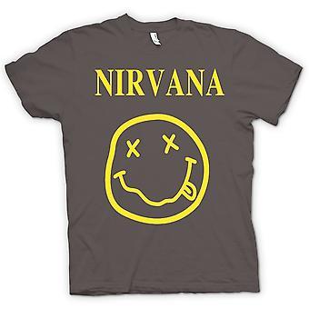 Kinderen T-shirt - Nirvana Smiley Face
