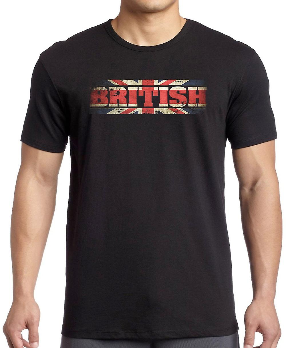 British - Great Britain - Words T Shirt