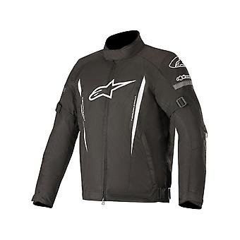 Alpinestars Black-White Gunner V2 Waterproof Motorcycle Jacket