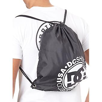 DC Black Logo 2 Cinch Bag